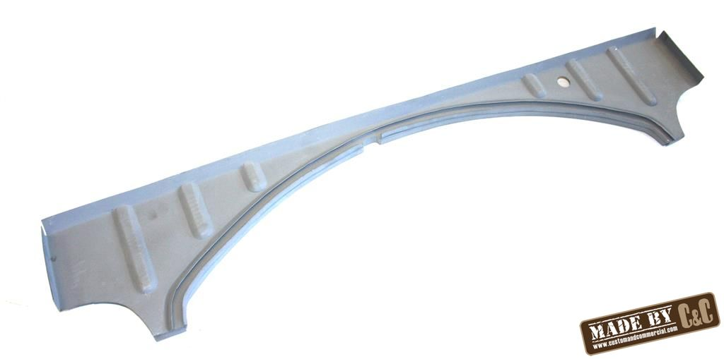 An image of correct fit complete lower firewall without pins beetle 50-52