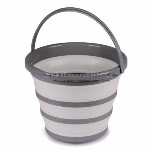 10L Collapsible Bucket - Grey