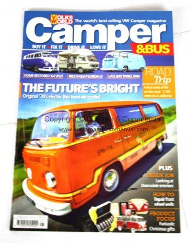 Camper Magazine January 2015 VW Gifts VW Books & Manuals VW