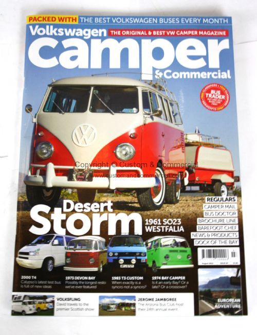 Camper Magazine August2015 VW Gifts VW Books & Manuals VW