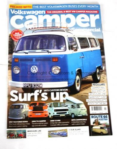 Camper Magazine March 2015 VW Gifts VW Books & Manuals VW