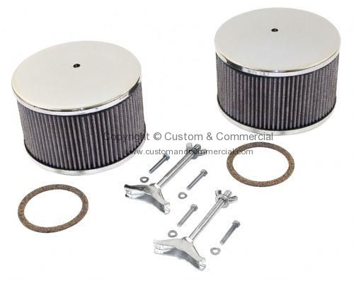 Empi chrome air cleaners wash sold as a Pair