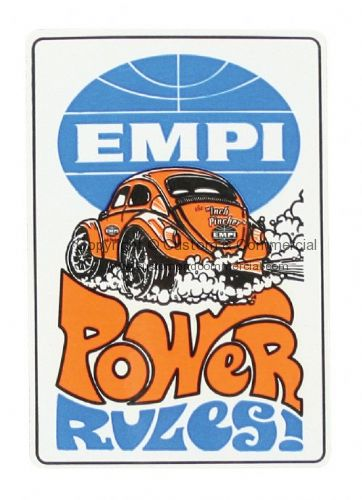 Emp Power rules sticker
