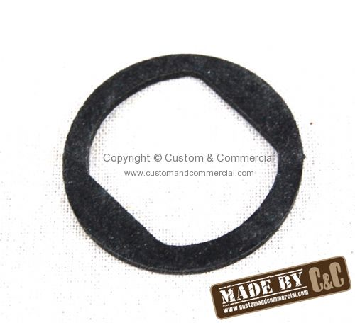 German quality rubber gasket for locking ring flat style Beetle 52-7/64 Bus 55-67