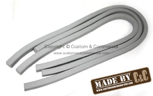 German quality tailgate to body seal Grey 3/50-8/63