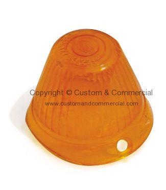 211953161 German Quality Hella Orange Bullet Indicator Lens Beetle 8 55 7 57 Bus 60 8 63