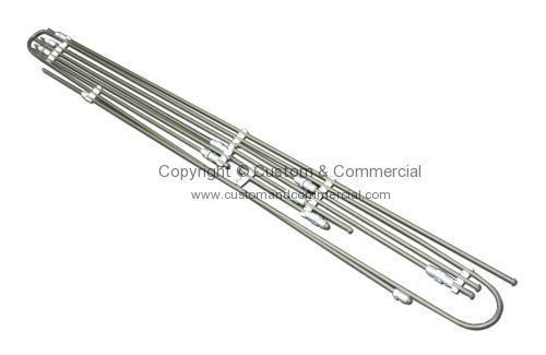 211698005L German quality brake pipe kit LHD 73