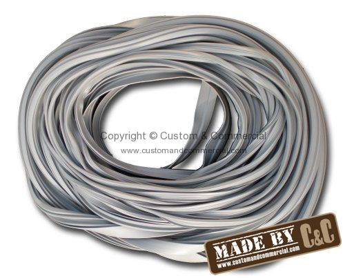 German quality westfalia louvered window seal kit in Grey 68-79