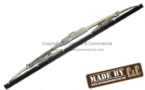 Stainless steel wiper blade 16 inch