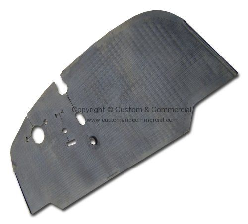 Moulded rubber cab floor mat LHD only 68-72