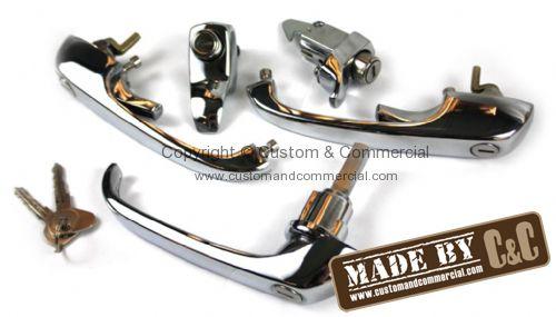 211837208kit german quality complete handle set on one r for Door handle in german