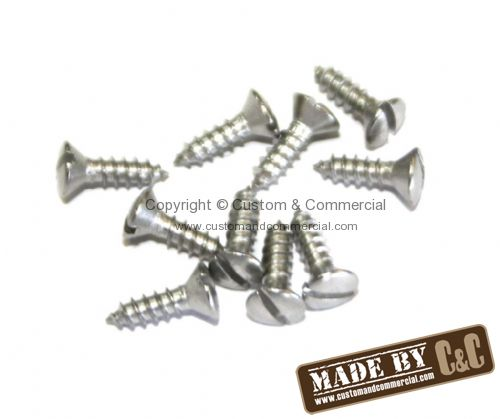 Stainless steel fixing screws for westfalia interior Bus 55-67