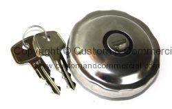 German quality stainless locking fuel cap with gasket T1 for repro fuel tank 8/61-7/67 T2 55-67