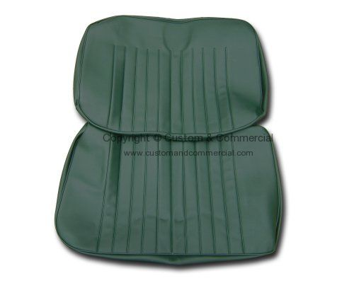 Front 2/3 bench Seat cover Green 68-72