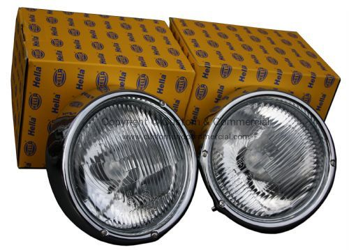 German quality complete Hella headlamp units RHD Pair