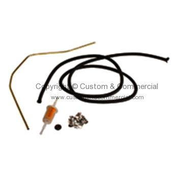 AC127000 Fuel hose kit Single carb AC127000 T4 T4 Fuel