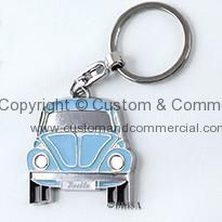 VW Beetle Key Chains BLUE