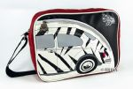 VW Beetle Shoulder Bag, landscape format, 25x35x10 cm, ZEBRA VW Gifts / VW Bags / Adult Bags VW0161 OEM: BESL03